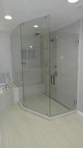 3/8 Heavy Frameless Shower